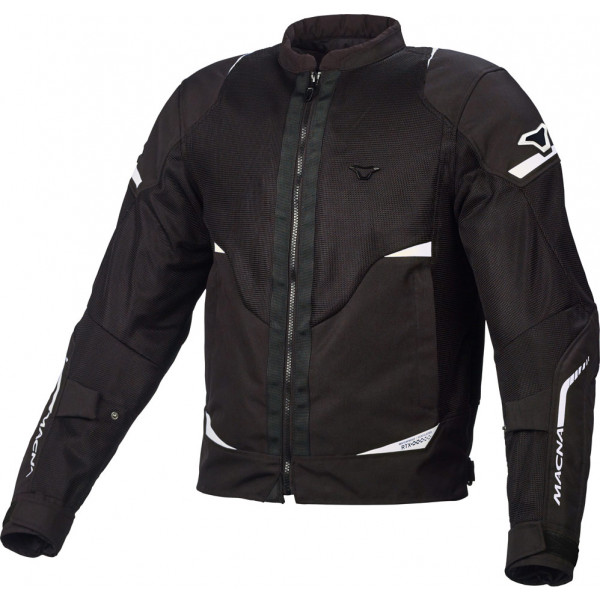 Giacca moto touring Macna Hurracage Nero