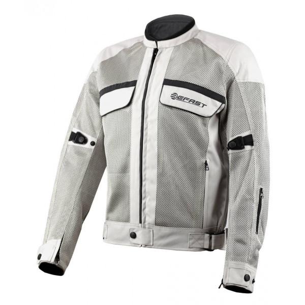Giubbotto moto estivo Befast Target Grigio