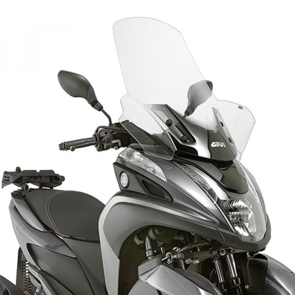 Givi 2120DT parabrezza trasparente per Yamaha MBK