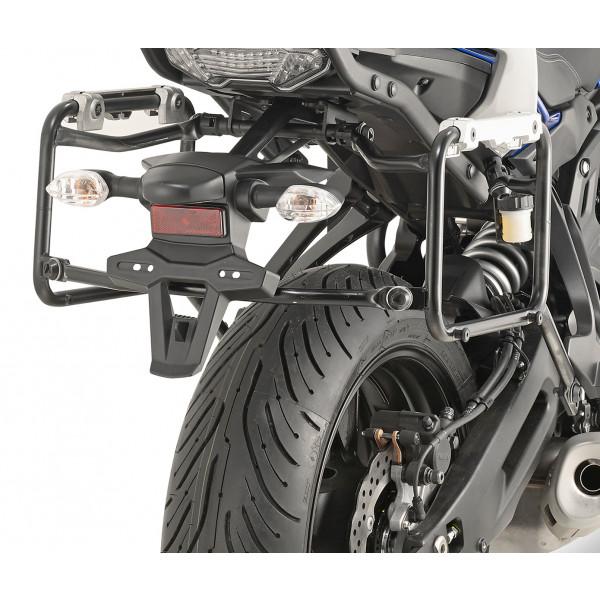 Givi PLR2130CAM Portavaligie laterale rimozione rapida per MONOKEY CAM-SIDE Trekker Outback per Yamaha