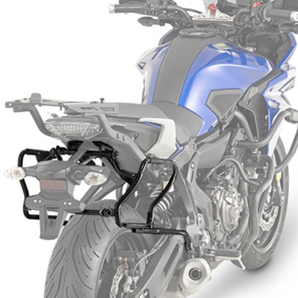 Givi PLXR2130 Portavaligie laterale rimozione rapida per V35 Monokey Side per Yamaha
