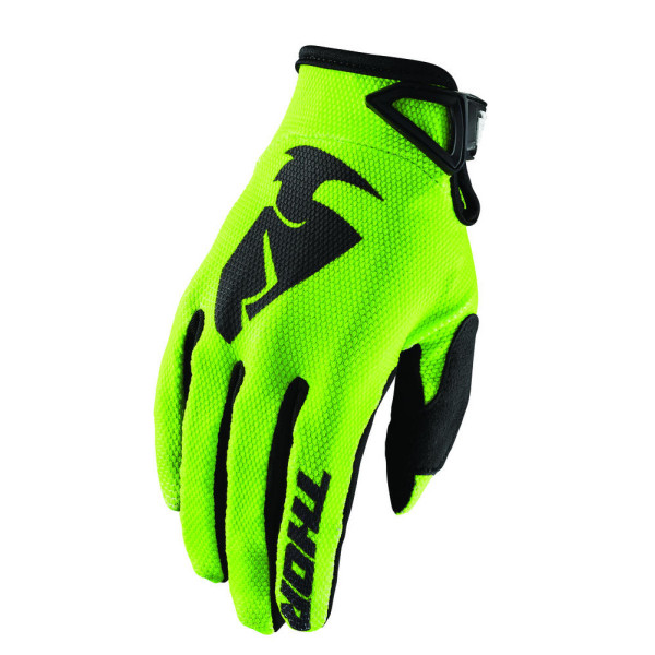 Guanti cross bambino Thor S8Y Youth SECTOR Verde Lime