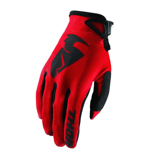Guanti cross Thor S8 SECTOR Rosso