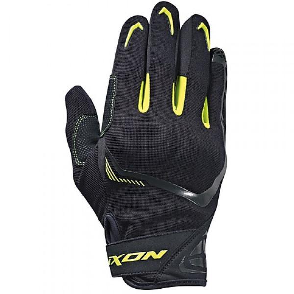 Guanti moto estivi Ixon RS LIFT 2.0 nero grigio giallo