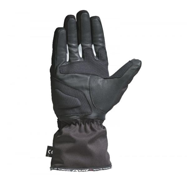 Guanti moto Invernali Ixon PRO ARROW nero bianco