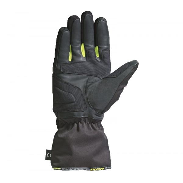 Guanti moto Invernali Ixon PRO ARROW nero giallo