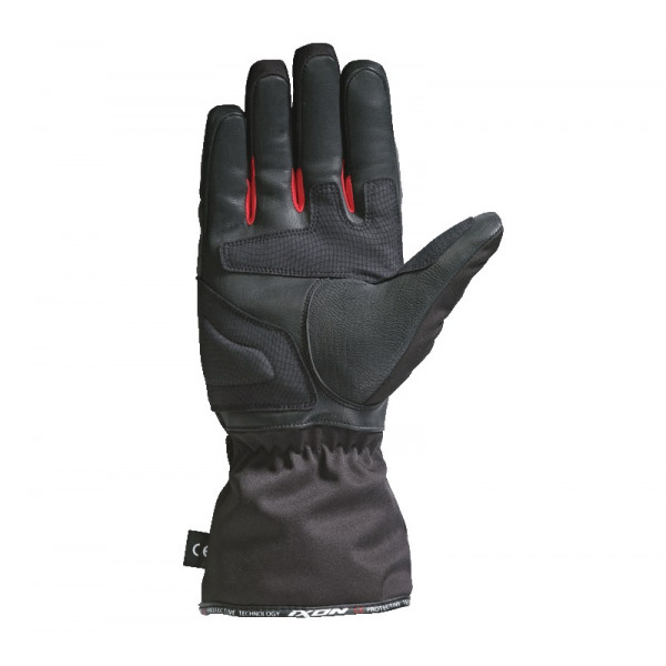 Guanti moto Invernali Ixon PRO ARROW nero rosso