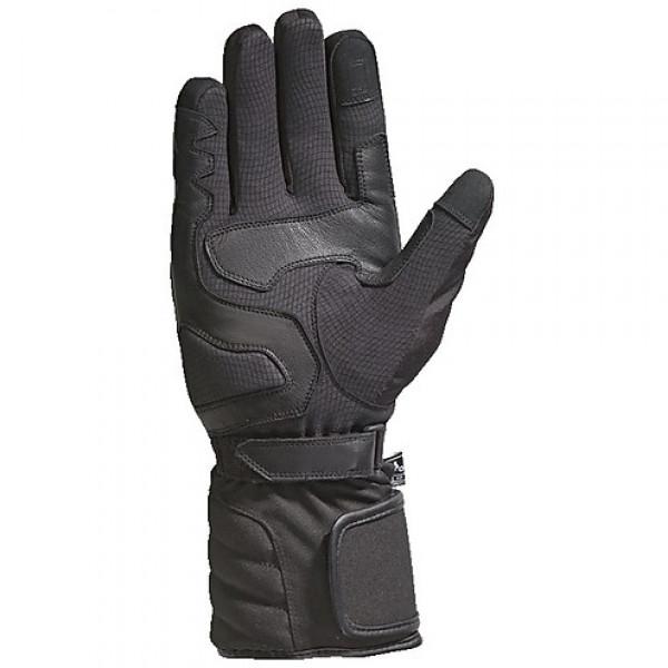 Guanti moto invernali Ixon PRO TENERE nero grigio