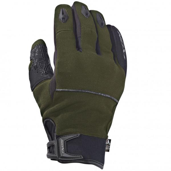 Guanti moto Ixon RS DRY 2 verde kaki nero