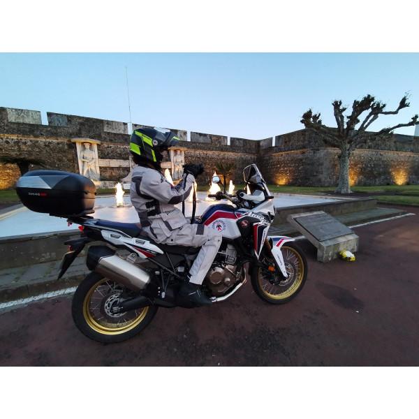 Stivali moto touring pelle Befast Freedom WP Nero