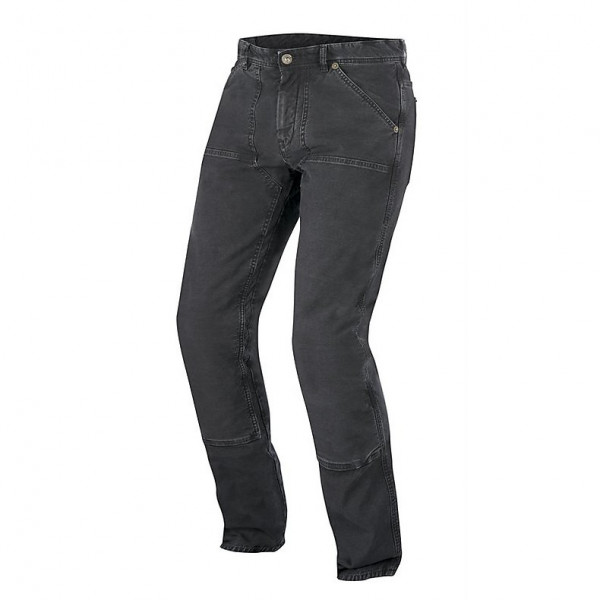 Jeans moto Alpinestars Oscar Tom Canvas neri