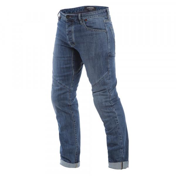 Jeans moto Dainese TIVOLI REGULAR blu medio