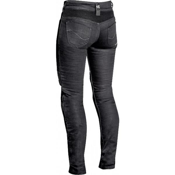 Jeans moto donna Ixon DENERYS grigio