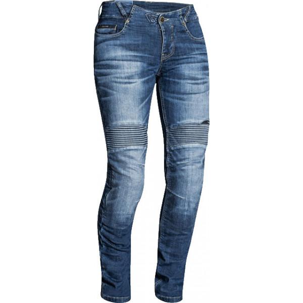 Jeans moto donna Ixon DENERYS stonewash