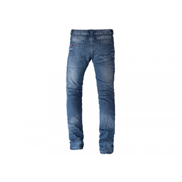 Jeans moto Motto GALLANTE con rinforzi in Kevlar blu