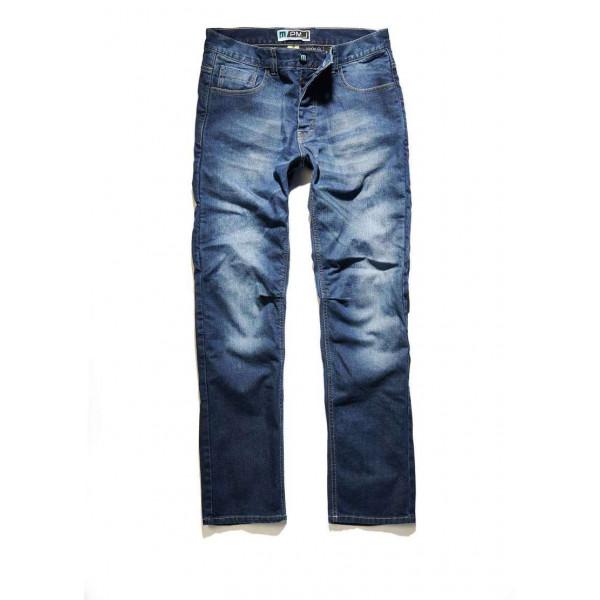 Jeans moto PMJ Rider Blu