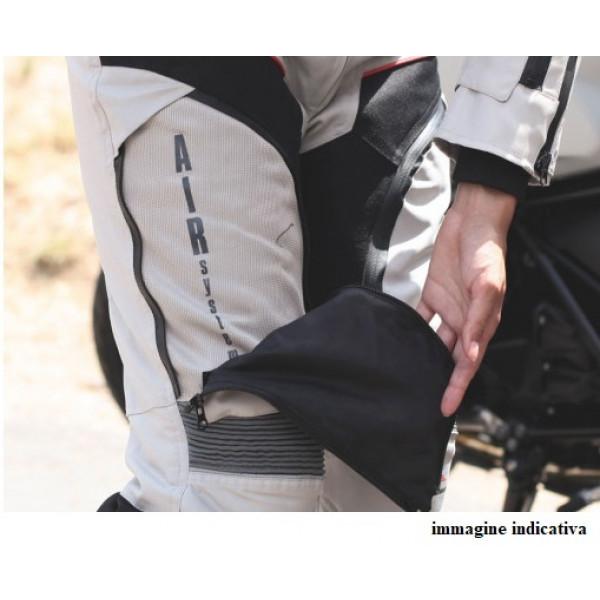 Pantaloni moto touring donna Befast KLIMA PANT Lady CE Certificati 3 strati Nero Grigio