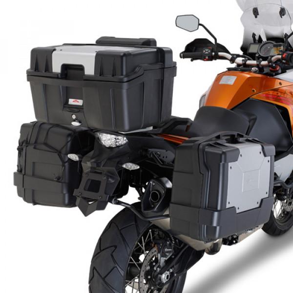Attacco posteriore KLR7703 per bauletto MONOLOCK per KTM 1190 ad