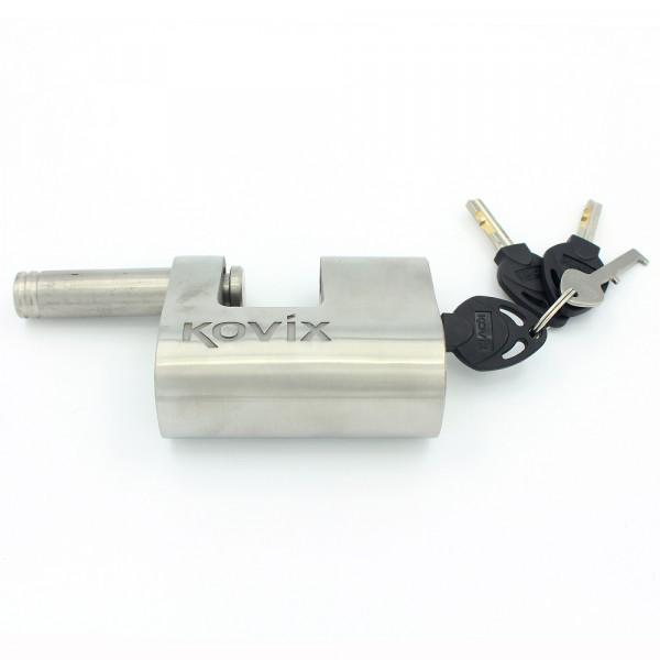 Lucchetto con allarme Kovix KBL12 120db perno 12mm acciaio