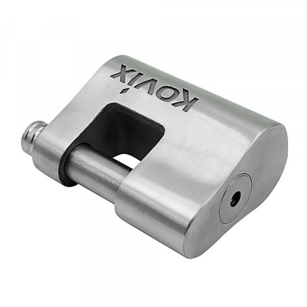 Lucchetto con allarme Kovix KBL16 120db perno 16mm acciaio
