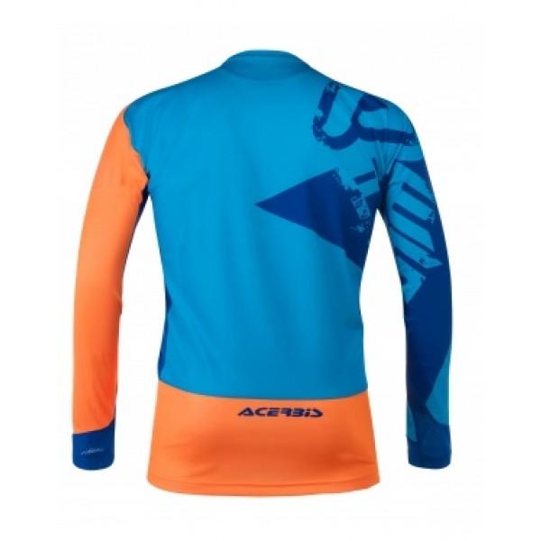 Maglia cross Acerbis Special Edition Thunder Blu Arancio
