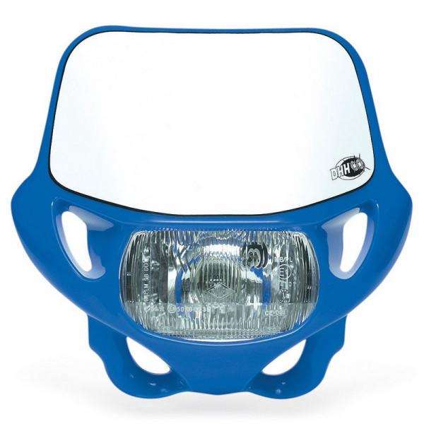 Maschera portafaro omologata Acerbis DHH Blu