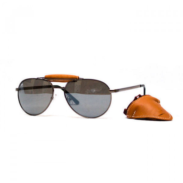 Occhiali moto Baruffaldi Annapurna Cuoio