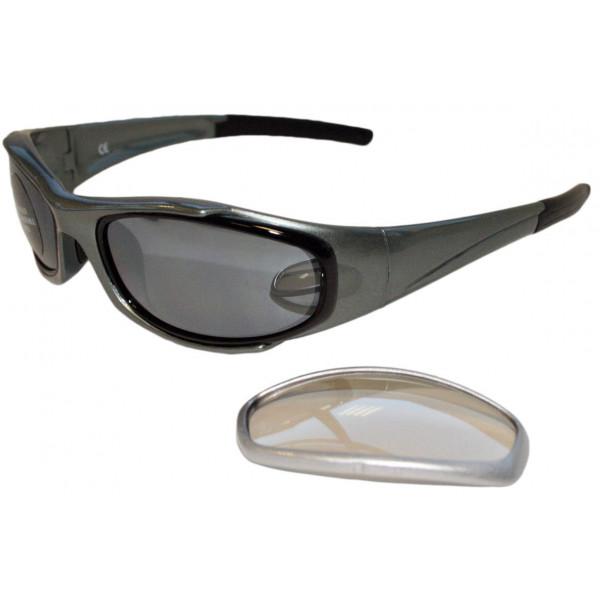 Occhiali moto Baruffaldi Taeg argento