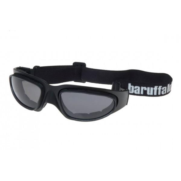 Occhiali moto Baruffaldi WindTini nero lente gialla