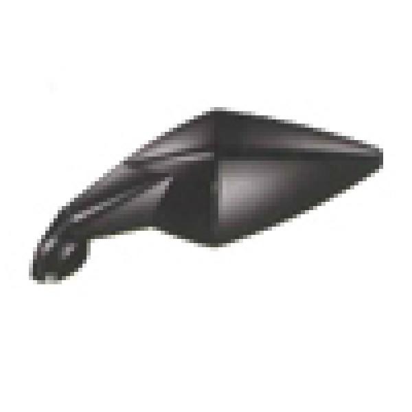 Coppia Specchi Orion Aircut omologato nero fissaggio al cupolino