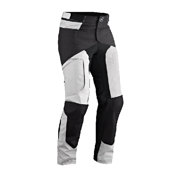 Pantaloni moto Ixon CROSS AIR grigio nero