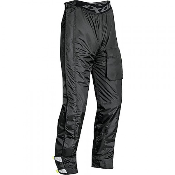 Pantaloni antipioggia Ixon SUTHERLAND nero giallo