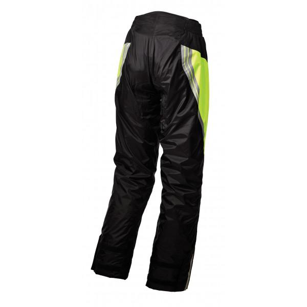 Pantaloni antipioggia Macna Shelter giallo fluo nero