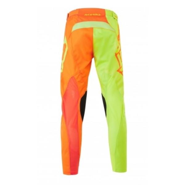 Pantaloni cross Acerbis Special Edition Eclipse Giallo Fluo Arancio Fluo