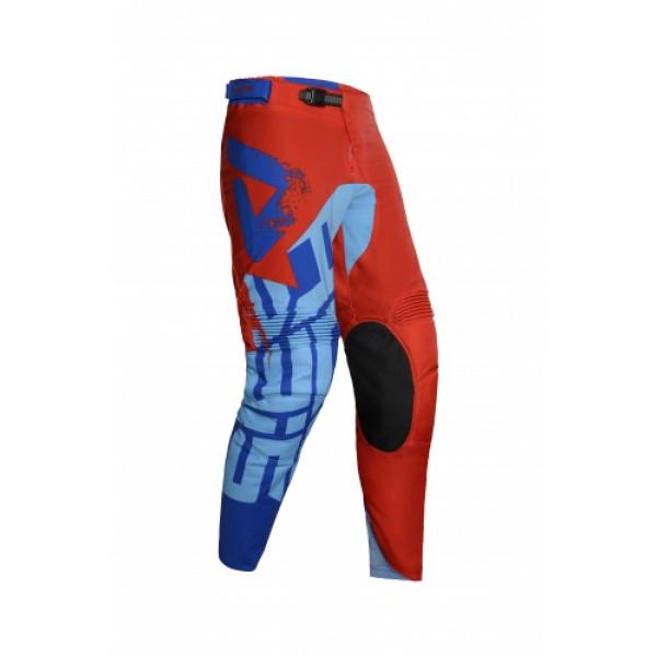 Pantaloni cross Acerbis Special Edition Seiya Rosso Blu