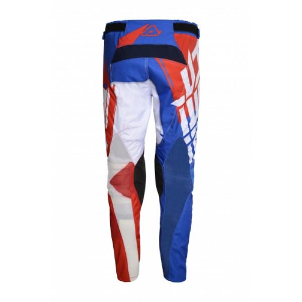 Pantaloni cross Acerbis Special Edition Shun Rosso Blu