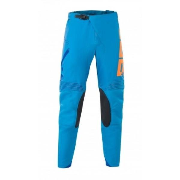 Pantaloni cross Acerbis Special Edition Thunder Blu Arancio