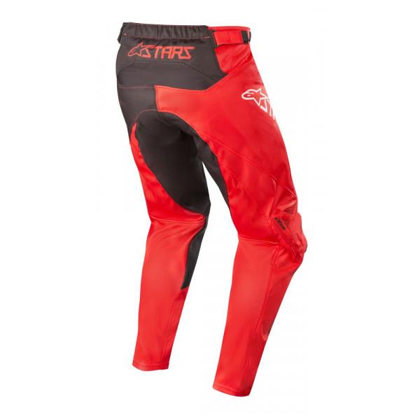 Pantaloni cross Alpinestars RACER SUPERMATIC Rosso Nero Bianco