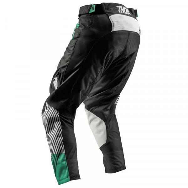 Pantaloni cross Thor S8 PULSE GEOTEC Nero