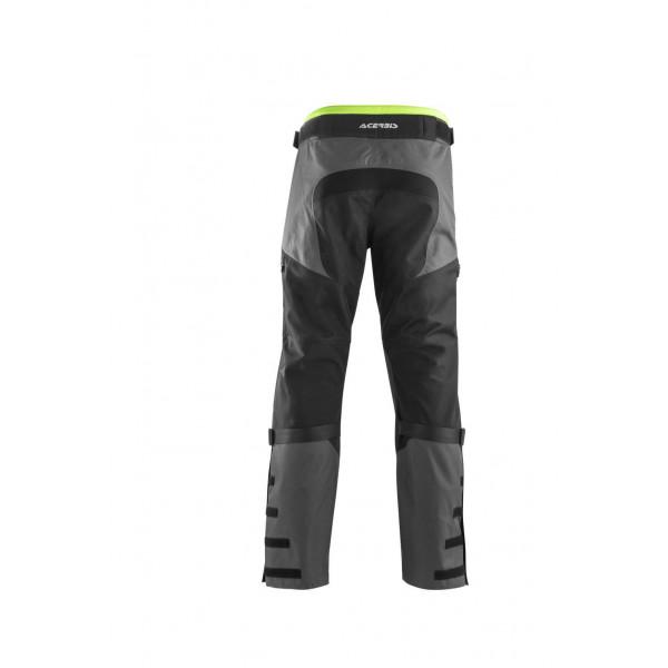 Pantaloni enduro Acerbis Enduro One baggy nero giallo fluo