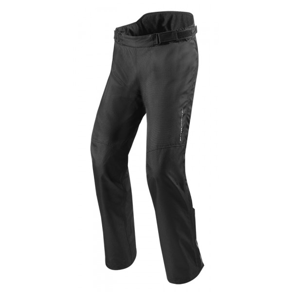Pantaloni moto accorciati touring Rev'it Varenne Nero