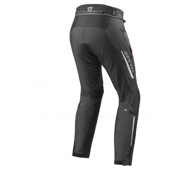 Pantaloni moto allungati touring Rev'it Vapor 2 Nero
