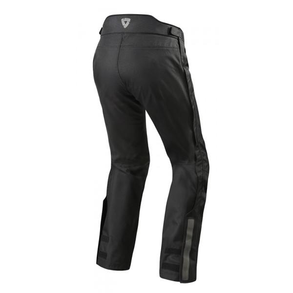 Pantaloni moto allungati touring Rev'it Varenne Nero