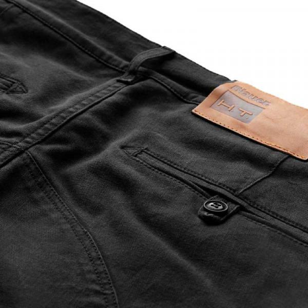 Pantaloni moto Blauer Stuart Cargo Canvas nero