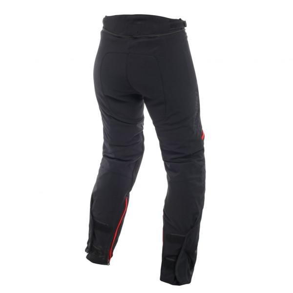 Pantaloni moto donna Dainese CARVE MASTER 2 GORE-TEX Nero Rosso