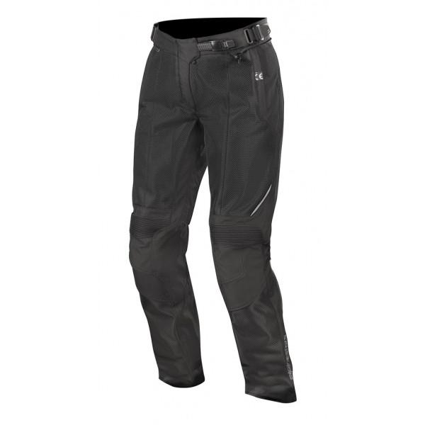 Pantaloni moto donna estivi Alpinestars STELLA WAKE AIR nero nero