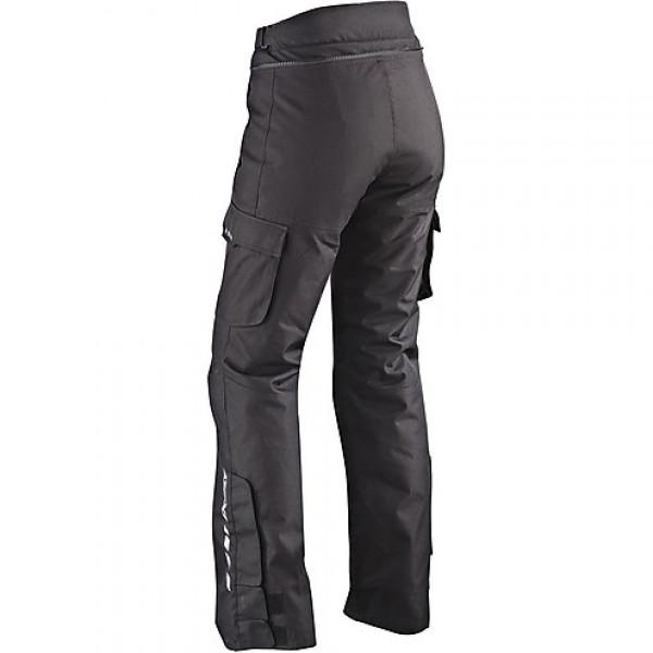 Pantaloni moto donna Ixon CORSICA nero