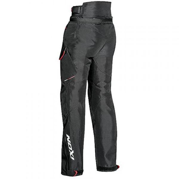 Pantaloni moto donna touring Ixon CROSSTOUR LADY 3 strati nero
