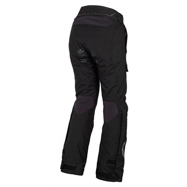 Pantaloni moto donna touring Macna Fulcrum nero
