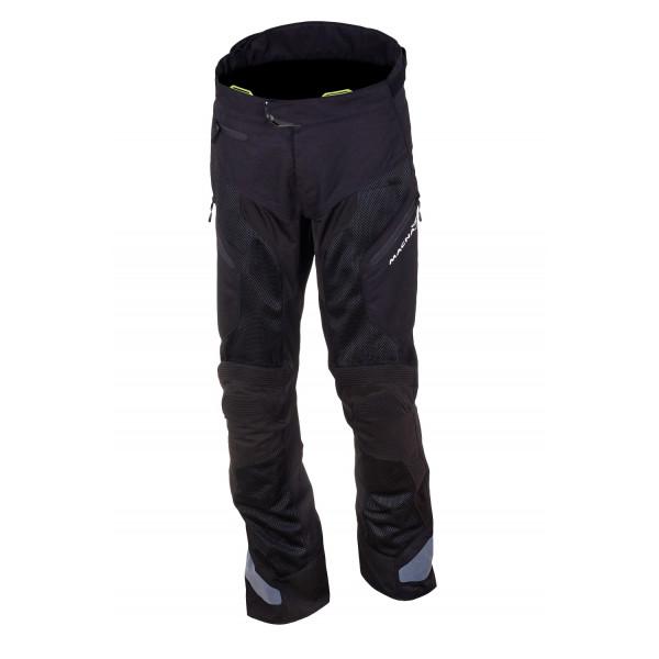 Pantaloni moto estivi Macna Buran nero
